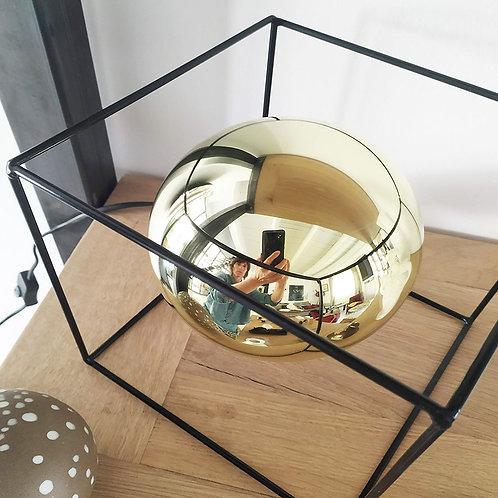 Cube noir vendu sans ampoule