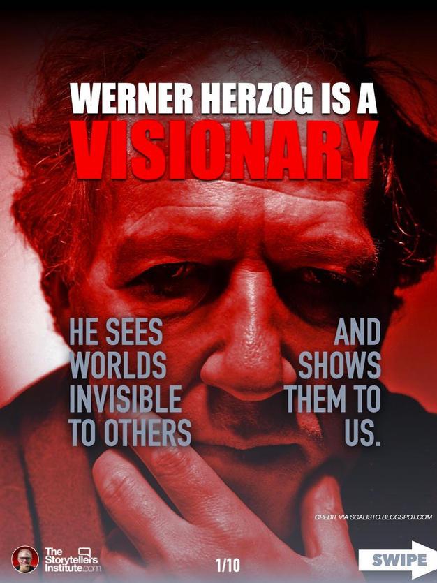 WERNER HERZOG IS A VISIONARY