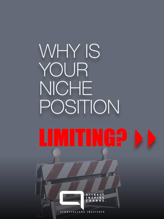 WHY A NICHE IS THE MOST POWERFUL STARTING POSITION.
