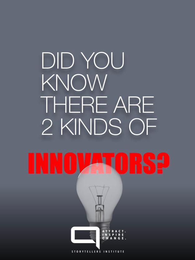 ARE YOU A SUSTAINING OR DISRUPTIVE INNOVATOR?
