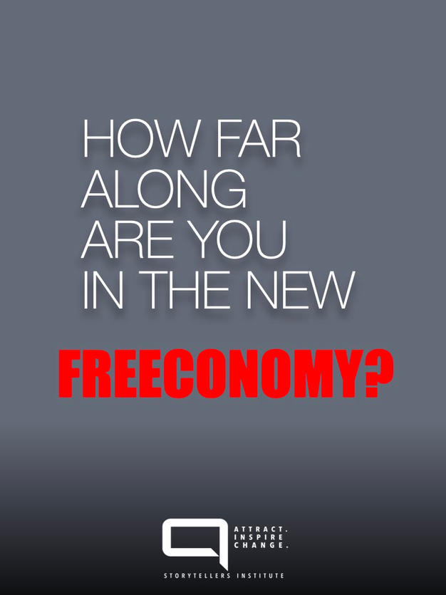 THE FREECONOMY JOURNEY IN FIVE STEPS.