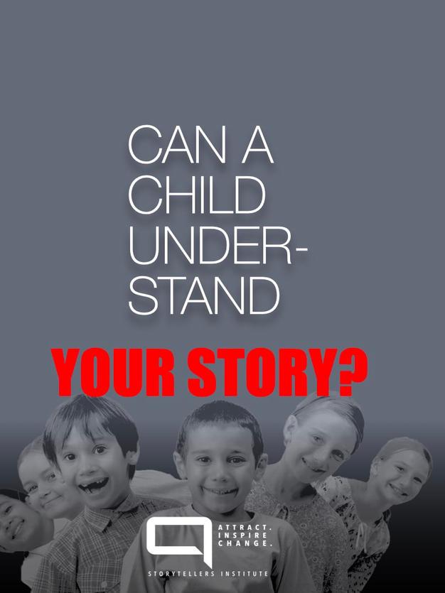 DO YOU SPEAK THE LANGUAGE OF STORY?