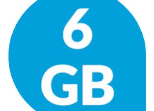 סים 6 גיגה - A1