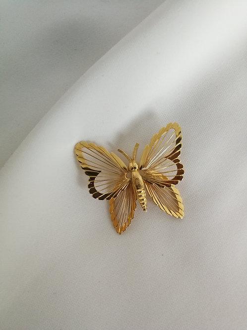 Брошь-бабочка Monet