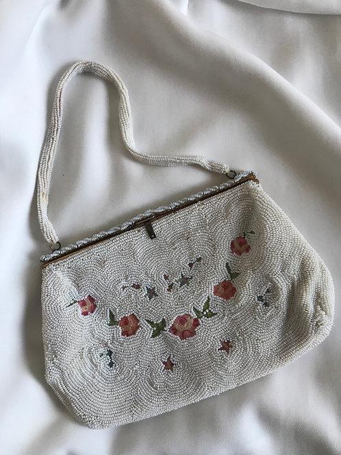 Старинная сумочка из бисера