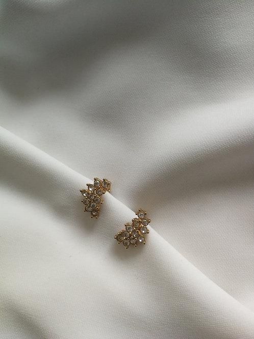 Клипсы с кристаллами Avon