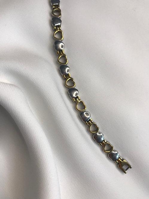 Биколорный браслет