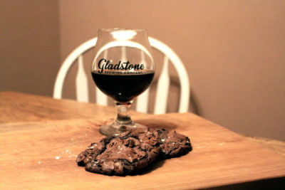 Recipe: Chewy Flourless Chocolate Dark Lager Cookies