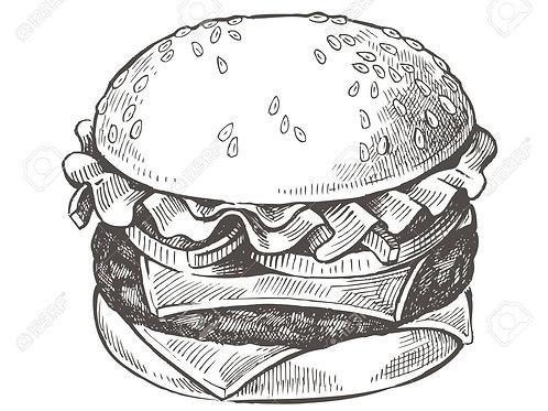 50/50 Burger