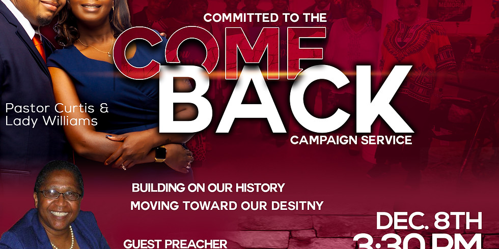 Committed to the Comeback Campaign Service