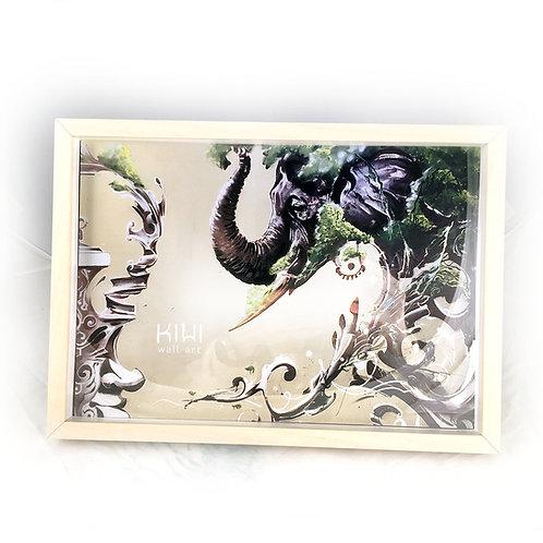 KIWI FRAME(D) ELEPHANT
