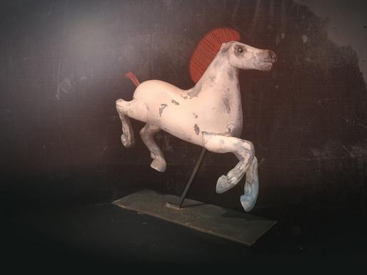 El caballo del cepillo