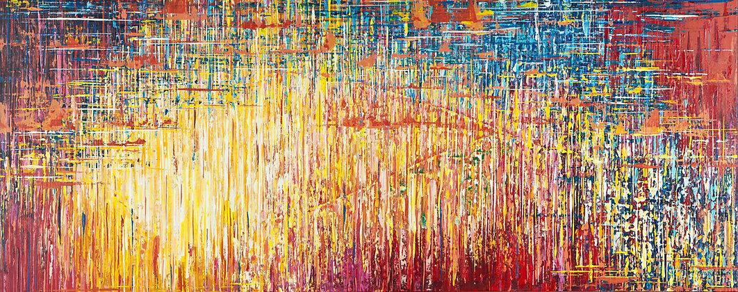 Jocelyn Farrell, modern abstract expressionist, Colorado fine artist