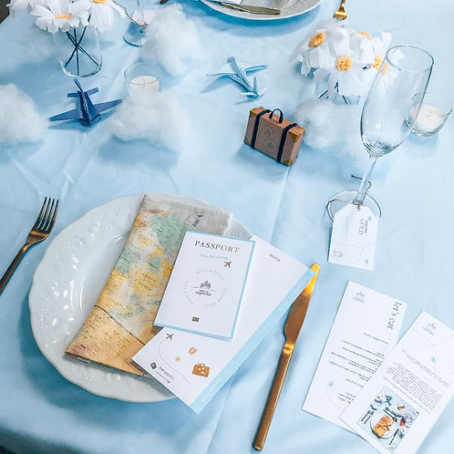 Hand-crafted tablescape kit
