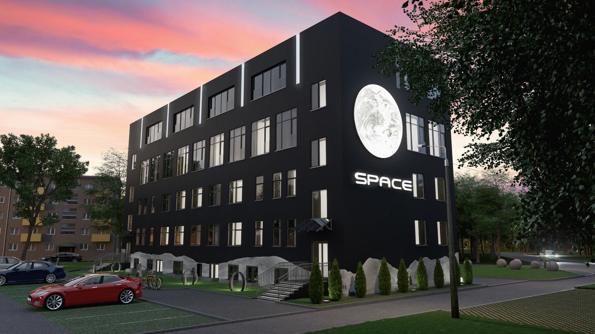 SpaceCube, Ehitajate tee 60, Tallinn