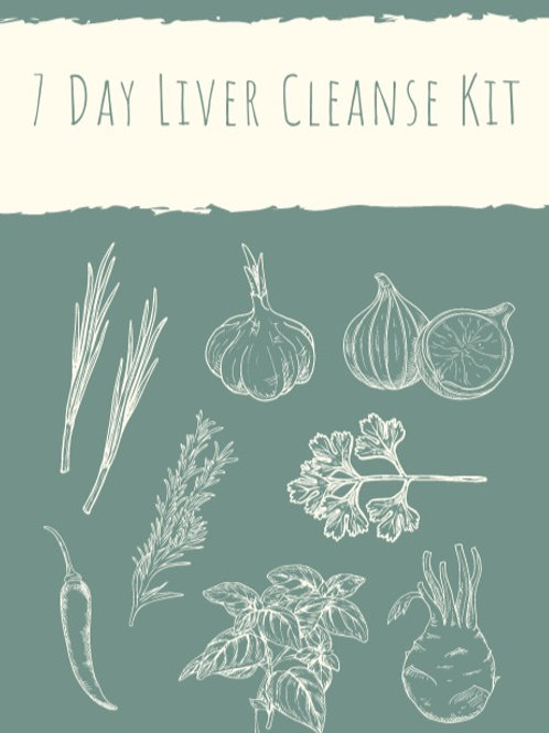 7 Day Liver Cleanse Kit