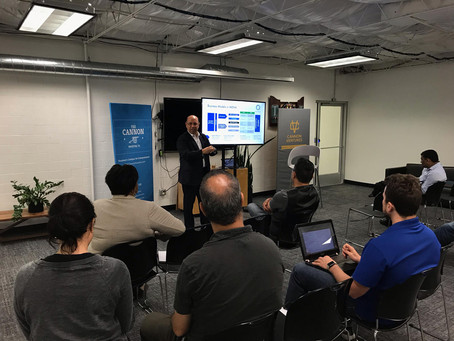Eternal Energy Lunch n' Learn session on May 10, 2019 at The Cannon