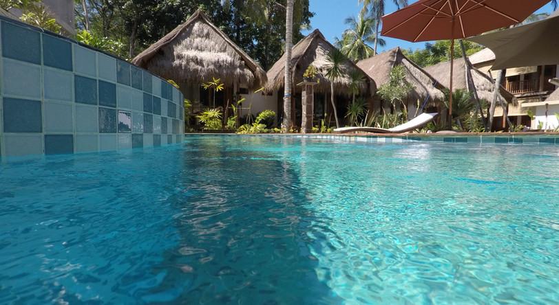 Pool, Palm bungalows