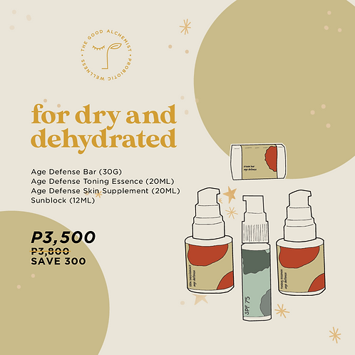 For Dry & Dehydrated Skin
