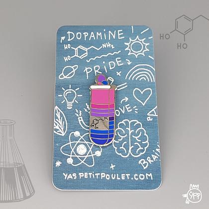 Bisexual Dopamine Badge