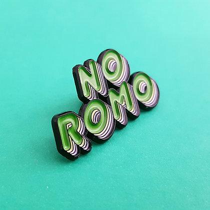 No ROMO   Pride Badge