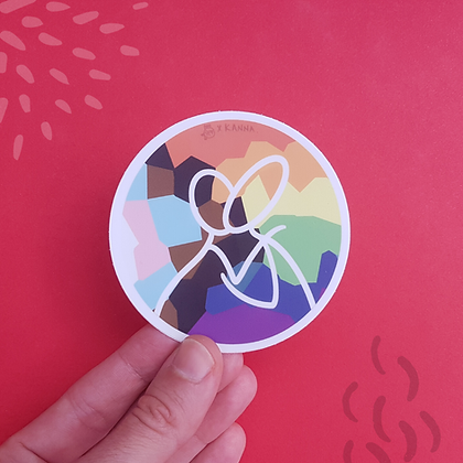 Pride Kiss Sticker