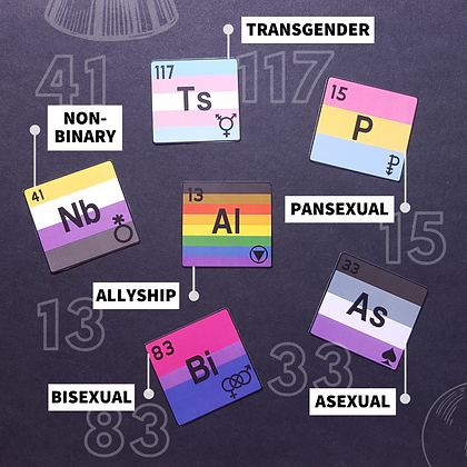 Element Stickers | Queer Chemistry