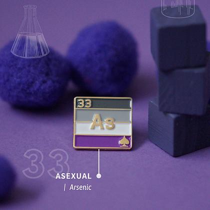 Asexual Pride Enamel Pins