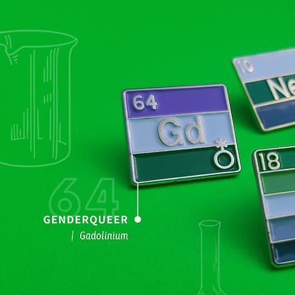 Genderqueer Pride Enamel Pins