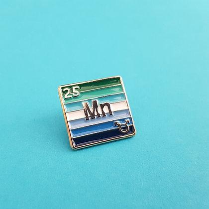 MLM - Manganese Pride Badge