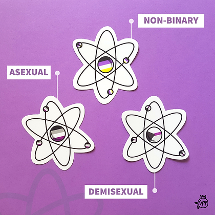 AtomiQueer Stickers
