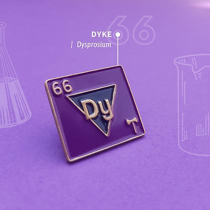 Dyke Lesbian Pride Enamel Pins