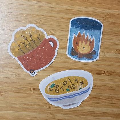 A Cozy Autumn   Stickers