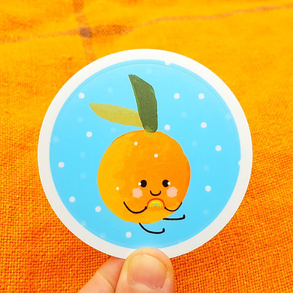 Baby Clementine | Kiss Cut Sticker