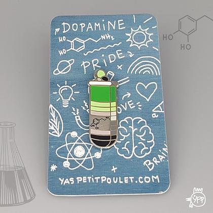 Aromantic Dopamine Badge