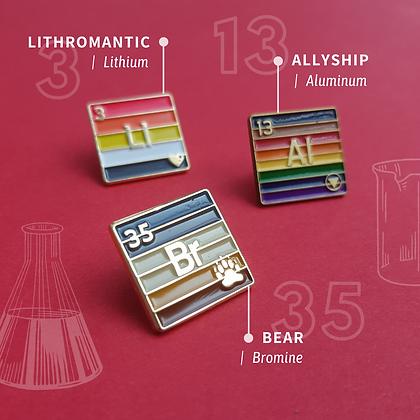 Ally Pride Enamel Pins