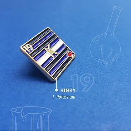 Kink Pride Enamel Pin