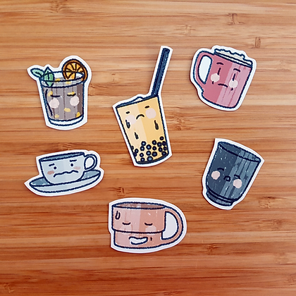 Anxie-teas | Stickers Pack