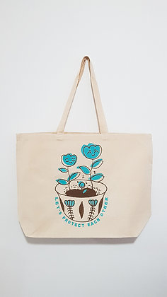 Let's Protect Each Other | Tote Bag
