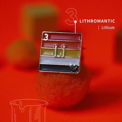 Lithromantic Pride Enamel Pins
