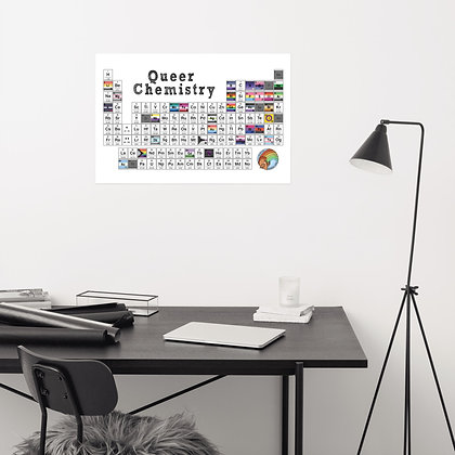 Queer Chemistry Periodic Table   Posters