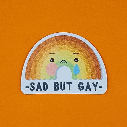 Sad but Gay | Sticker