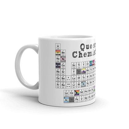 Queer Chemistry White Glossy Mug