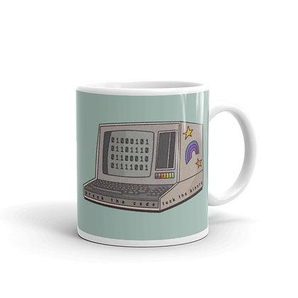 Break the Code, Fuck the Binary Mug