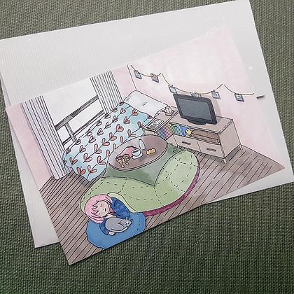 Under the Kotatsu | Print