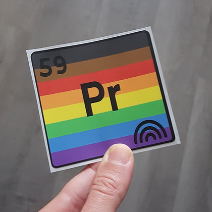 Pride Stickers | Queer Chemistry