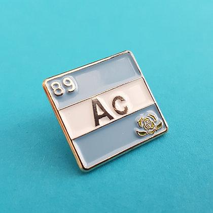 Achillean - Actinium   Pride Badge