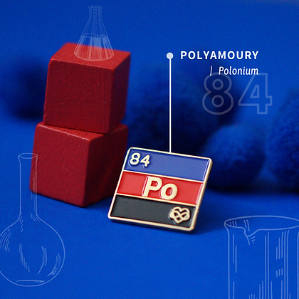 Polyamory Pride Enamel Pins