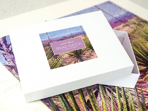 Danika Ostrowski Texas Yucca Puzzle, big bend
