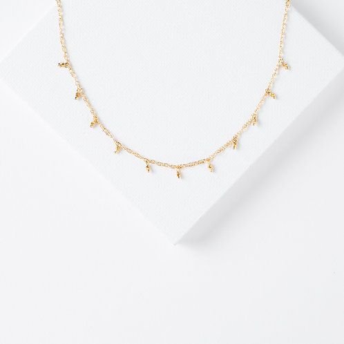rindi necklace, Kate Winternitz, gold neckalce, simple jewelry, elegant jewelry
